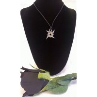ALCHEMY GOTHIC DESIGNS NECKLACE – METALLICA NINJA STAR