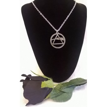 ALCHEMY GOTHIC DESIGNS NECKLACE – PINK FLOYD DARK SIDE OF THE MOON