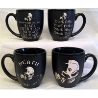 ALCHEMY GOTHIC DESIGNS MUGS – SET OF FOUR