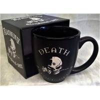 ALCHEMY GOTHIC DESIGNS MUG – DEATH BEFORE DECAF