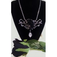ALCHEMY GOTHIC DESIGNS NECKLACE – BACCHANAL ROSE