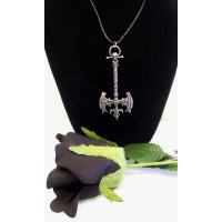 ALCHEMY GOTHIC DESIGNS NECKLACE – KASPAR'S AXE