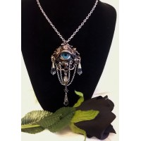 ALCHEMY GOTHIC DESIGNS NECKLACE – NATURAL MAGIC: THE LORE OF THE FOREST – THE EYE OF AN ENT