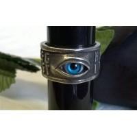 ALCHEMY GOTHIC DESIGNS RING – OUIJA EYE – UK Size Q