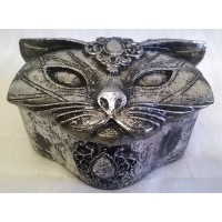 ALCHEMY GOTHIC DESIGNS TRINKET BOX – SACRED CAT