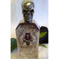 ALCHEMY GOTHIC DESIGNS FLASK – THE ALCHEMIST'S POTION BOTTLE