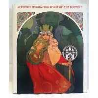 BOOK – ART – ALPHONSE MUCHA : THE SPIRIT OF ART NOUVEAU
