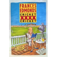 BOOK – SPORT – CRICKET – CRICKET XXXX CRICKET by FRANCES EDMONDS