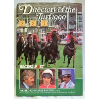 BOOK – SPORT – HORSERACING – RACING POST DIRECTORY OF THE TURF 1990