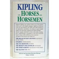 BOOK – SPORT – HORSERACING – KIPLING ON HORSES AND HORSEMEN