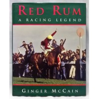 BOOK – SPORT – HORSERACING – RED RUM – A RACING LEGEND by GINGER McCAIN