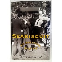 BOOK – SPORT – HORSERACING – SEABISCUIT – AN AMERICAN LEGEND by LAURA HILLENBRAND