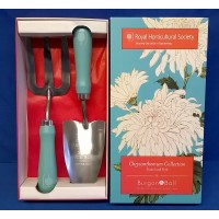ROYAL HORTICULTURAL SOCIETY CHRYSANTHEMUM TROWEL & FORK SET