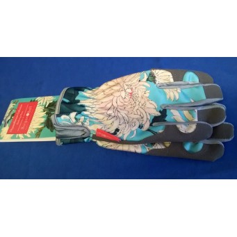 ROYAL HORTICULTURAL SOCIETY CHRYSANTHEMUM GARDENING GLOVES - MID SEASON SALE – 30% OFF – WAS £20.99