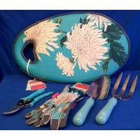 ROYAL HORTICULTURAL SOCIETY CHRYSANTHEMUM GARDENING SET - MID SEASON SALE – 30% OFF – WAS £89.99