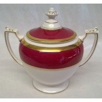 COALPORT ATHLONE MARONE SUGAR POT