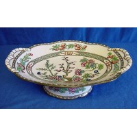COALPORT INDIAN TREE COMPORT OR TAZZA
