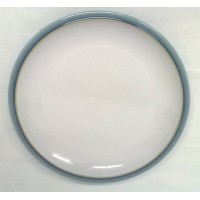 DENBY BLUE JETTY (WHITE) 18.5cm TEA OR SIDE PLATE