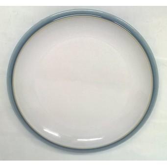 DENBY BLUE JETTY (WHITE) 18.5cm TEA OR SIDE PLATE