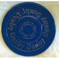 DENBY IMPERIAL BLUE STONEWARE TRIVET OR TEAPOT STAND