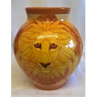 DENNIS CHINAWORKS LION VASE - SPECIAL OFFER WAS £399.99