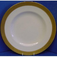 ROYAL CROWN DERBY ST GEORGE DINNER PLATE