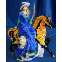THE ENGLISH LADIES Co FIGURINE – MERRY GO ROUND - LIMITED EDITION