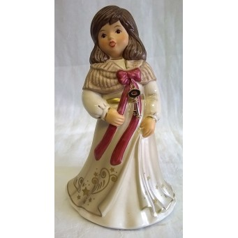 GOEBEL PORCELAIN LIMITED EDITION ANNUAL ANGEL – 2019 MYSTERIOUS CHRISTMAS TIME
