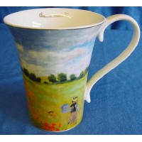 GOEBEL CLAUDE MONET MUG – POPPY FIELD