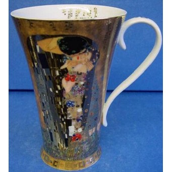 GOEBEL GUSTAV KLIMT MUG – THE KISS – DER KUSS