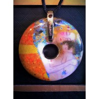 GOEBEL GUSTAV KLIMT PENDANT – THREE AGES OF WOMAN