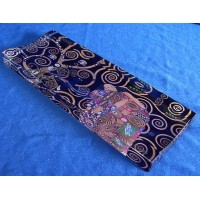 GOEBEL GUSTAV KLIMT ART GLASS PEN TRAY - TREE OF LIFE