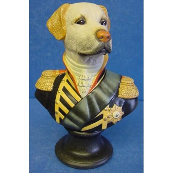 GOEBEL THIERRY PONCELET ARISTO DOG BUST - MARQUIS OF RETRIEVER