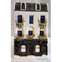 HAZLE BOYLES CERAMICS NATION OF SHOPKEEPERS – THE CRICKETERS PUBLIC HOUSE