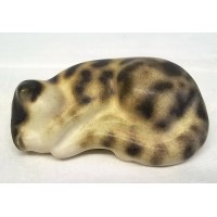 MOORSIDE POTTERY CAT – SLEEPING TABBY