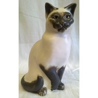 MOORSIDE POTTERY CAT – ZOE
