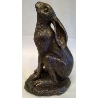 NEMESIS NOW BRONZE – MOON GAZING HARE