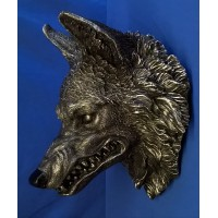 NEMESIS NOW WALL PLAQUE – WOLF HEAD