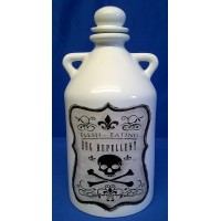 NEMESIS NOW BOTTLE – FLESH EATING BUG REPELLENT TWIN HANDLED FLAGON