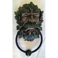 NEMESIS NOW DOOR KNOCKER – WILDWOOD GREEN MAN