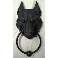 NEMESIS NOW DOOR KNOCKER – WOLF - WILD