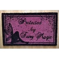 NEMESIS NOW DOORMAT – PROTECTED BY FAIRY MAGIC