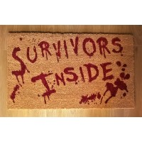 NEMESIS NOW DOORMAT – SURVIVORS INSIDE