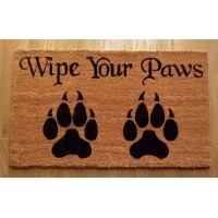 NEMESIS NOW DOORMAT – WIPE YOUR PAWS