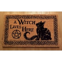 NEMESIS NOW DOORMAT – A WITCH LIVES HERE