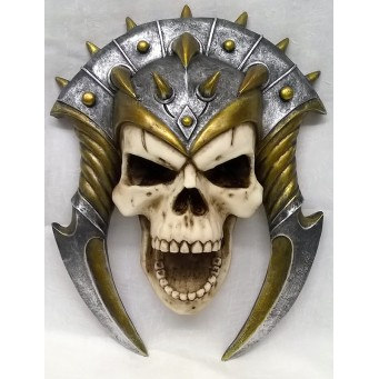 NEMESIS NOW SKULL WALL PLAQUE – DEMONS BANE