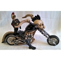 NEMESIS NOW MOTORCYCLE - HELL FOR LEATHER