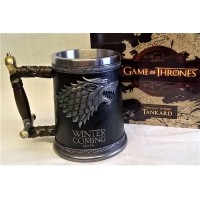 NEMESIS NOW GAME OF THRONES – WINTER IS COMING TANKARD