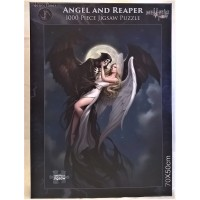 NEMESIS NOW JIGSAW PUZZLE - ANGEL AND REAPER