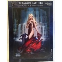 NEMESIS NOW JIGSAW PUZZLE - DRAGON BATHERS